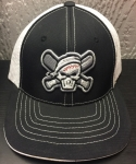 Youth Black & White Mesh Rogues Hat